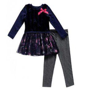 NEW Dollie & Me Girls' Legging & Tunic Set